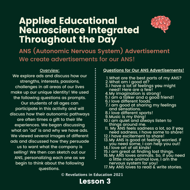 Applied Educational Neuro science Integrated 3